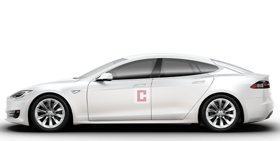 Tesla Model S Chauffeur Car Hire Dubai